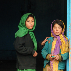Children in Kargil, Jammu & Kashmir, India. (Photo: Naomi Hellmann)