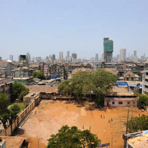 The South of Mumbai; from Dongri looking to Bohra Mohalla (to the West), Mumbai, April 2010. (Photo: Reza Masoudi Nejad)
