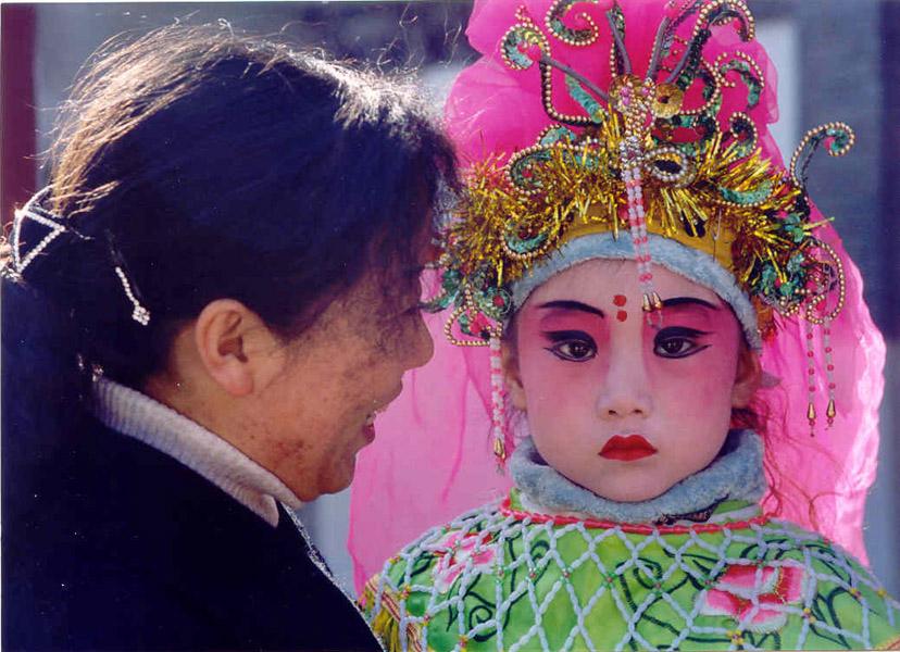 Celebrating the Lunar New Year in Beijing. (Photo: Naomi Hellmann)