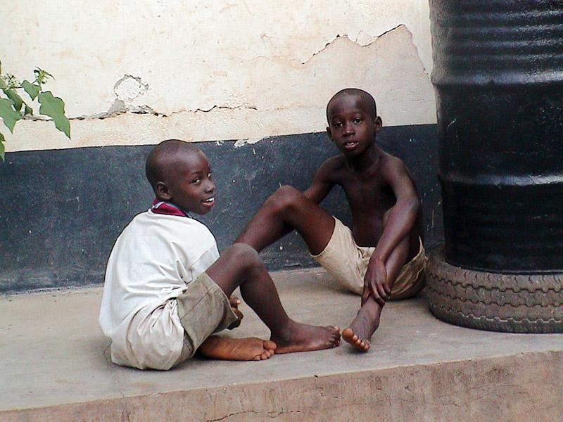 Children (Dormaa Ahenkro, Ghana). (Photo: Boris Nieswand)