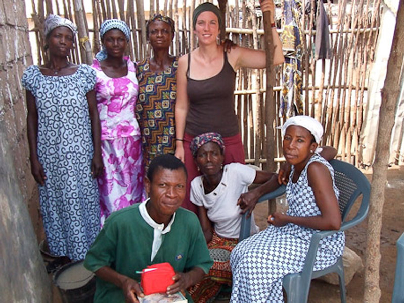 Deaf people in their Sunday clothes after church. (Photo: Annelies Kusters)