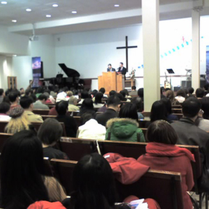 Flushing, Queens, Dec 9th, 2007. Faith Bible Church. (Photo: Weishan Huang)