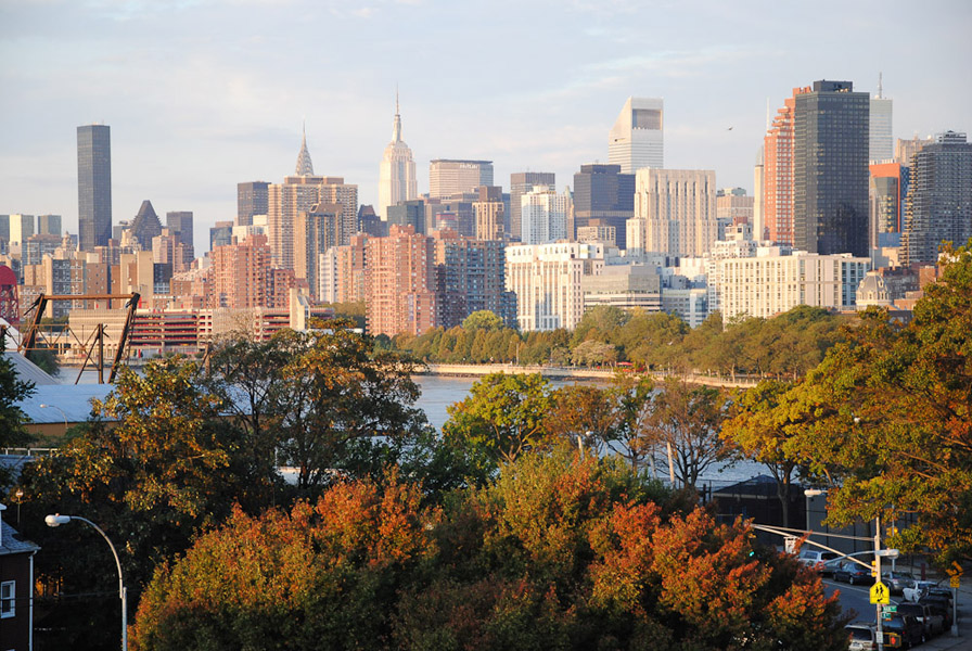 View to Manhattan from Astoria, New York. (Photo: Dörte Engelkes)