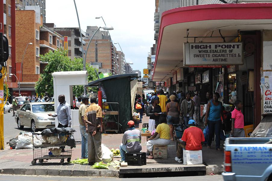 Pretoria Street, Hillbrow, Johannesburg. (Photo: Dörte Engelkes)