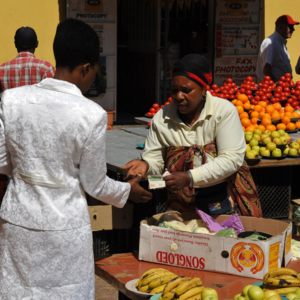 Market at Quarkstreet, Hillbrow, Johannesburg. (Photo: Dörte Engelkes)