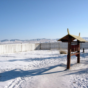 Ivolginsky Buddhist Monastery, February 2005. (Photo: Justine Buck Quijada)