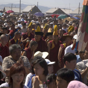 Maidari Festival, Ivolginsky Buddhist Monastery, July 2005. (Photo: Justine Buck Quijada)