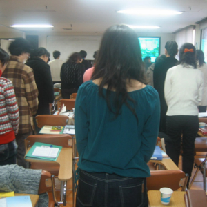 NK Migrants in SK Church (1). (Photo: Jin-Heon Jung)