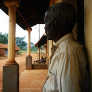 Old man (Dormaa District, Ghana). (Photo: Boris Nieswand)
