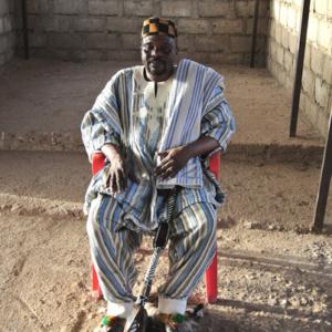 Joseph Asaga, Nangodi Paramount Chief. (Photo: Elena Gadjanova)
