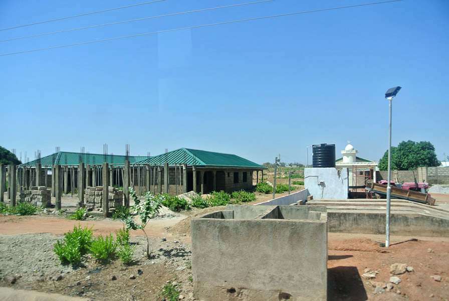 Mosque in Paga, Northern Ghana. (Photo: Elena Gadjanova)