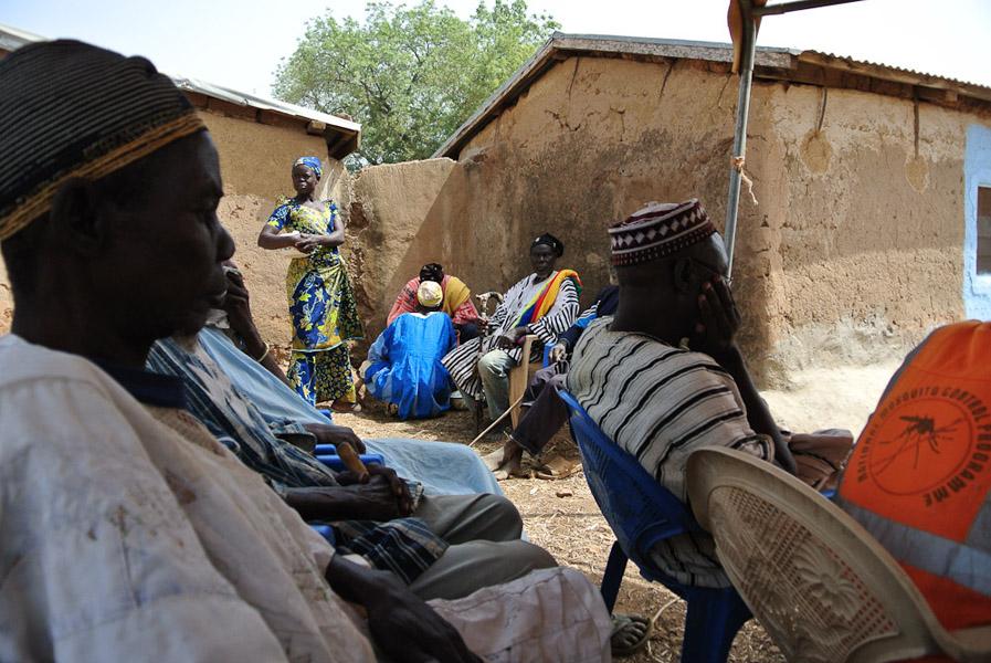 Nangodi chief, Upper East Region, Ghana. (Photo: Elena Gadjanova)