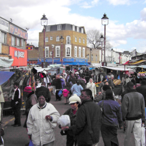 Ridley Road Market, Hackney, London. (Photo: Steven Vertovec)