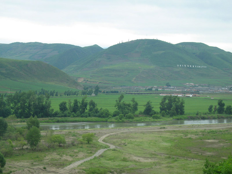 The Sino-North Korean Border. (Photo: Jin-Heon Jung)
