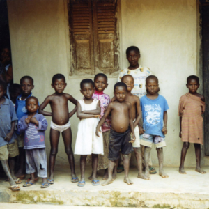 Village Children (Dormaa District, Ghana). (Photo: Boris Nieswand)