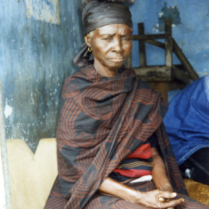 Widow (Dormaa District, Ghana). (Photo: Boris Nieswand)