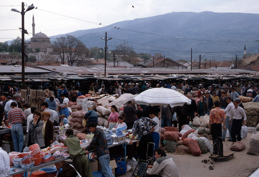 Old market in Skopje, Macedonia. (Photo: Steven Vertovec)