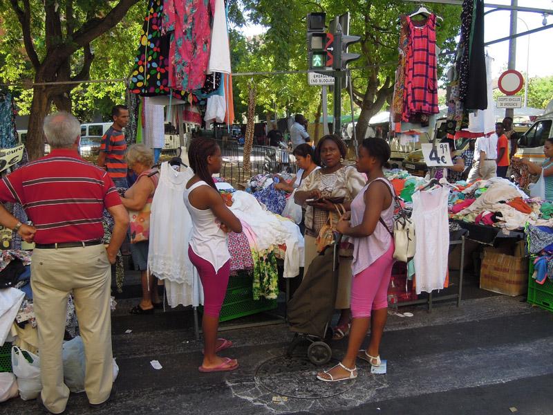 Street market III, Murcia, Spain. (Photo: Damian Omar Martinez)