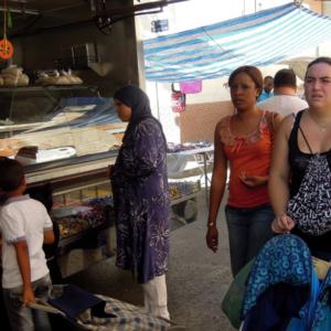Street market V, Murcia, Spain. (Photo: Damian Omar Martinez)