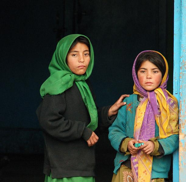 Children in Kargil, Jammu & Kashmir, India. (Photo: Naomi Hellmann)