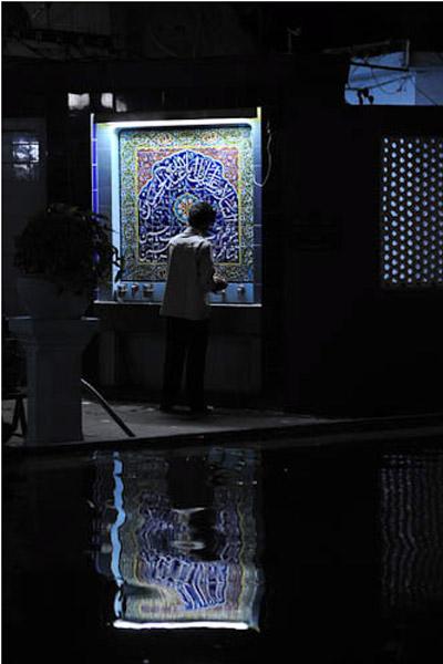 Mugol Masjid, Dongri, Mumbai, India, December 2010 (during the month of Muharram). (Photo: Reza Masoudi Nejad)