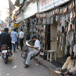 Zanjir: Jail Raod, Dongri, Mumbai, December 2010 - Zanjir, chain, is used for the ritual of flagellation during Muharram. (Photo: Reza Masoudi Nejad)