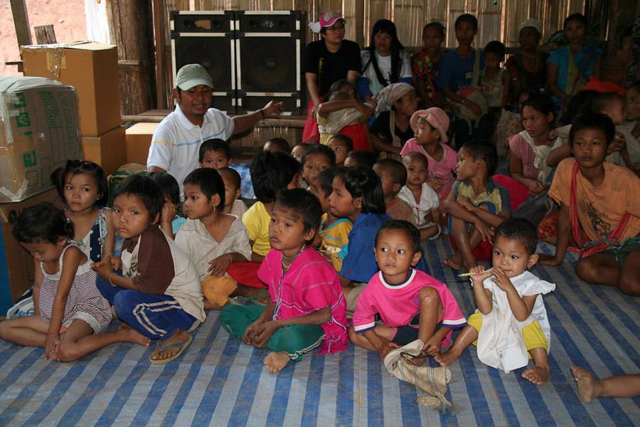 Flüchtlinge aus Burma in Thailand. (Photo: Alexander Horstmann)