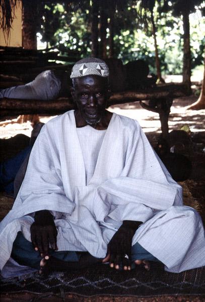 Fulani migrant (Cattle Market, Korhogo, Côte d'Ivoire). (Photo: Boris Nieswand)