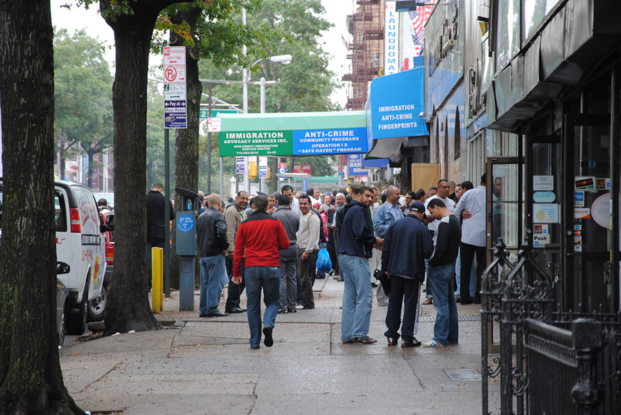 Astoria, New York. (Photo: Dörte Engelkes)