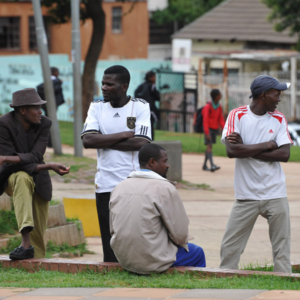 Berea Park, Hillbrow, Johannesburg. (Photo: Dörte Engelkes)