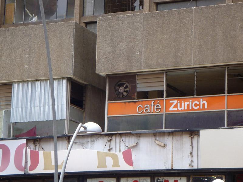 Historic Cafe Zurich. (Photo: Alex Wafer)
