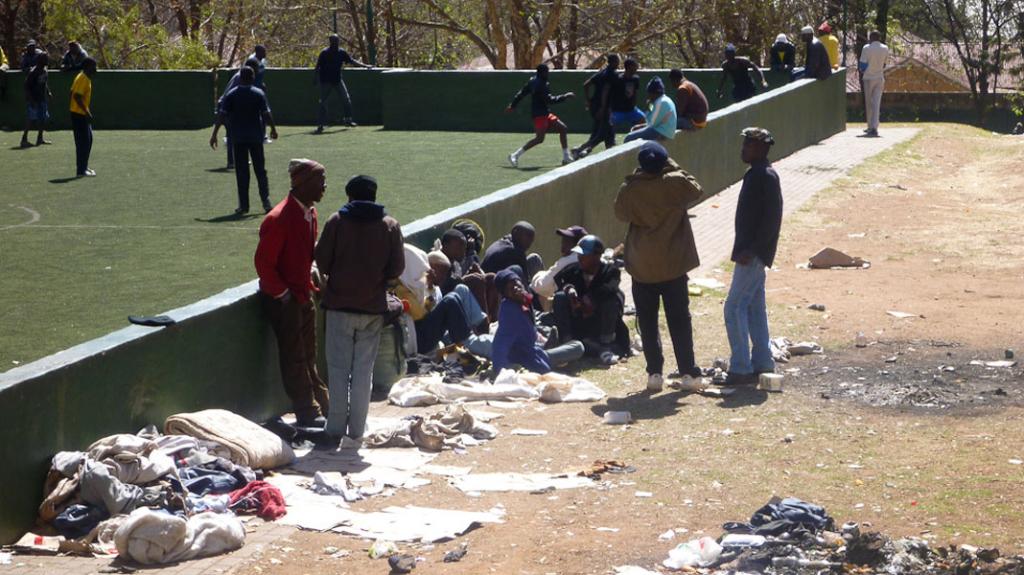 Home Grounds & Homelessness. (Photo: Raji Matshedisho)
