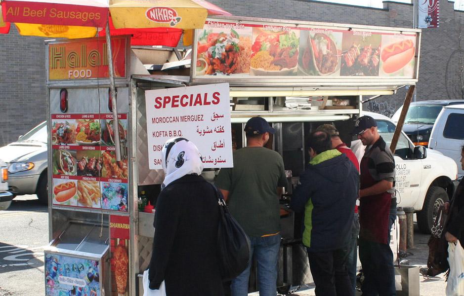 Moroccan food to go. (Photo: Steven Vertovec)