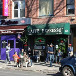 Street cafe. (Photo: Steven Vertovec)