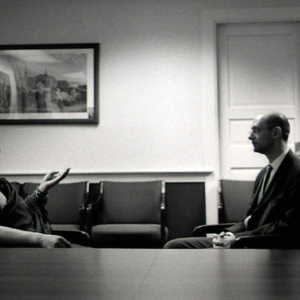 Khenpo Sodargye with Benjamin Bogen at Georgetown University, April 2013. (Photo: Dan Smyer Yu)