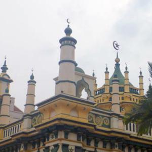 Mosque, Little India, Singapore. (Photo: Steven Vertovec)