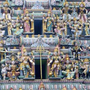 Sri Mariammam Temple, Singapore. (Photo: Steven Vertovec)