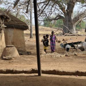 Place for sacrifices at Chiefs palace, Nangodi, Ghana. (Photo: Elena Gadjanova)