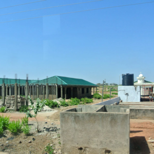 Mosque in Paga, Northern Ghana. (Photo: Elena Gadjanova)