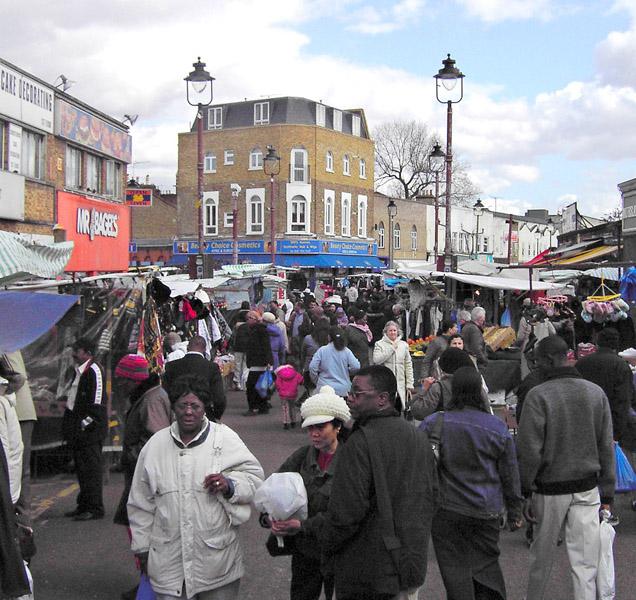Ridley Road Market, Hackney, London. (Photo: Steven Vertovec)