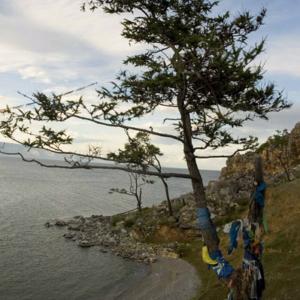 Sacred site, Olkhon Island, Lake Baikal. July 2005. (Photo: Justine Buck Quijada)