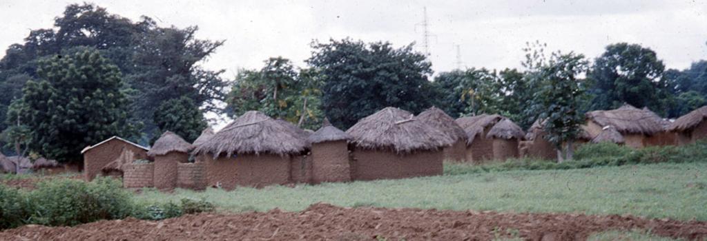 Senufo Village (in the vicinity of Korhogo, Côte d'Ivoire). (Photo: Boris Nieswand)