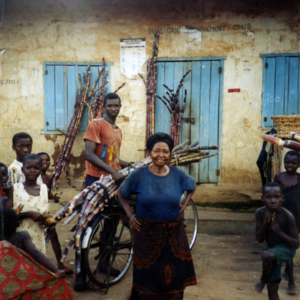 Sugar cane harvest (Dormaa District, Ghana). (Photo: Boris Nieswand)