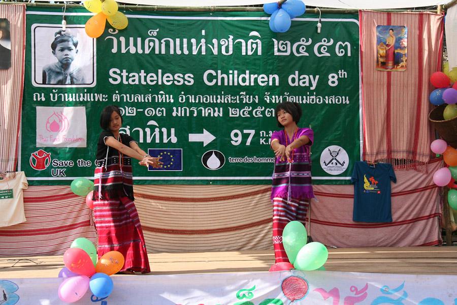 Tanz am Tag der staatenlosen Kinder. (Photo: Alexander Horstmann)