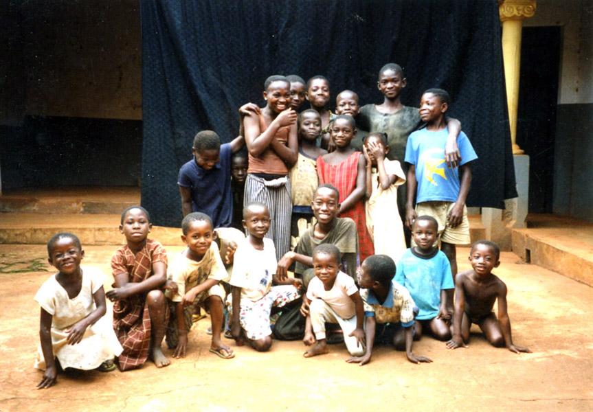 Village Children 2 (Dormaa District, Ghana). (Photo: Boris Nieswand)