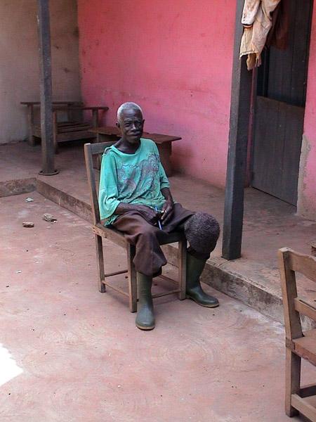 Village elder 2 (Dormaa District, Ghana). (Photo: Boris Nieswand)