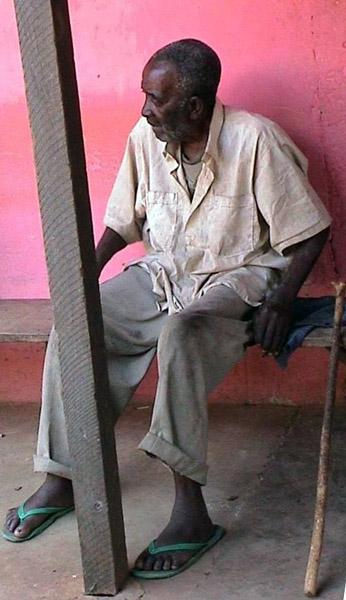 Village elder 3 (Dormaa District, Ghana). (Photo: Boris Nieswand)