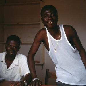 Young urban Senufo men (Korhogo, Côte d'Ivoire). (Photo: Boris Nieswand)