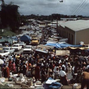 Market day in Penal. (Photo: Steven Vertovec)