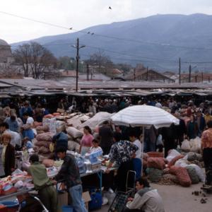 Old market in Skopje, Macedonia. (Photo: Steven Vertovec)